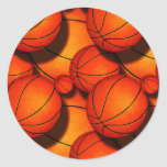 Pegatinas de los baloncestos