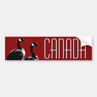Pegatinas de los gansos de Canadá de la pegatina p Pegatina Para Auto