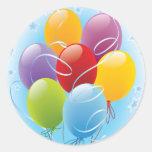 Pegatinas de los globos