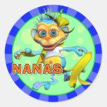 Pegatinas de Nanas de la diversión