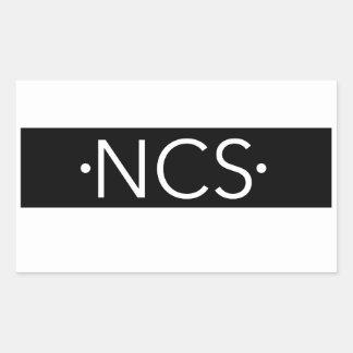 Pegatinas de NCS Pegatina Rectangular