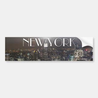 Pegatinas de New York City de la pegatina para el  Pegatina Para Auto