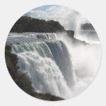 Pegatinas de Niagara Falls Pegatinas Redondas