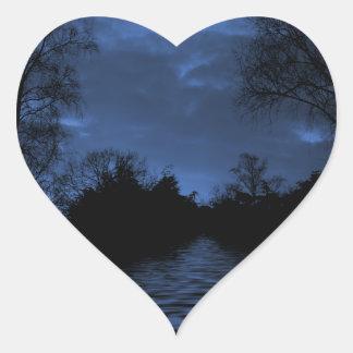 Pegatinas de Nightsky Pegatina En Forma De Corazón