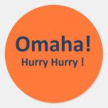 Pegatinas de Omaha para las fans de los caballos s