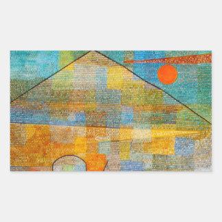 Pegatinas de Parnassum del anuncio de Paul Klee