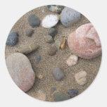 Pegatinas de Pebble Beach Etiquetas Redondas