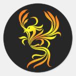 Pegatinas de Phoenix Pegatina Redonda
