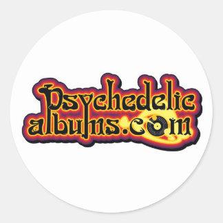 pegatinas de psychedelicalbums.com pegatina redonda