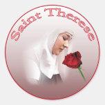 Pegatinas de Teresa del santo