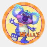 Pegatinas de Wally de la diversión