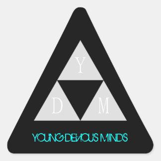 Pegatinas de YDM Colcomanias De Triangulo
