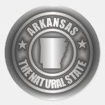 """""""Pegatinas del acero de Arkansas"""""""