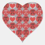 Pegatinas del amor y de los corazones pi - regalo
