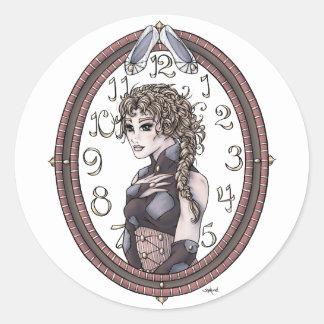 Pegatinas del arte de la fantasía de Cenicienta