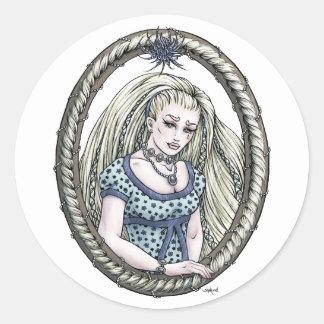 Pegatinas del arte de la fantasía de Rapunzel de
