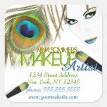 Pegatinas del artista de maquillaje