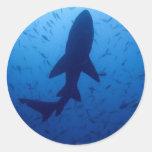Pegatinas del ataque del tiburón