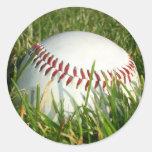 Pegatinas del béisbol pegatina redonda