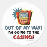 Pegatinas del casino