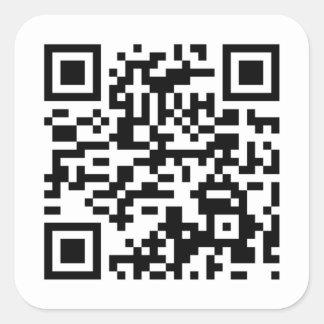Pegatinas del código de QR de The Game