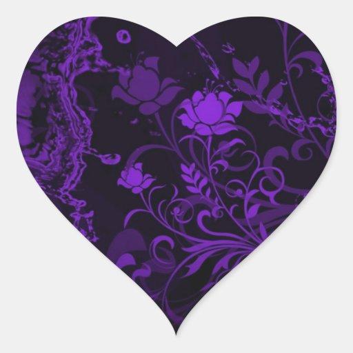 pegatinas del corazón calcomania de corazon personalizadas