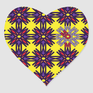 Pegatinas del corazón de la MAMÁ Pegatina De Corazon Personalizadas