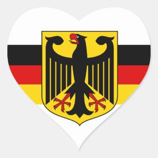 Pegatinas del corazón del fussball #3 del fútbol pegatina de corazon