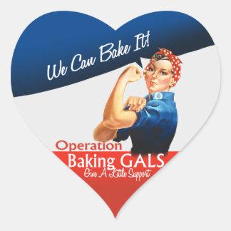 Pegatinas del corazón del logotipo de OBG Calcomanías De Corazones Personalizadas