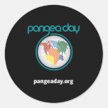 Pegatinas del día de Pangea