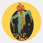 Pegatinas del espantapájaros del otoño
