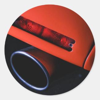 Pegatinas del extractor del coche
