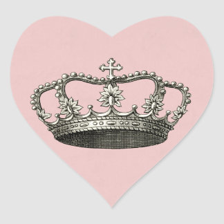 Pegatinas del favor de la princesa fiesta de bienv calcomanía corazón personalizadas