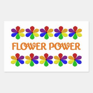 Pegatinas del flower power