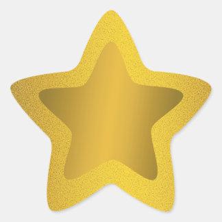 Pegatinas del fondo de las chispas del brillo de l calcomanías forma de estrellas