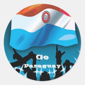 Pegatinas del fútbol de Paraguay