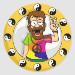 Pegatinas del Hippie