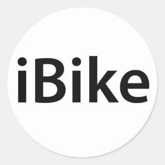 pegatinas del iBike Etiquetas Redondas