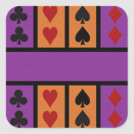 Pegatinas del jugador de tarjeta, personalizar