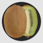 Pegatinas del kiwi pegatinas redondas