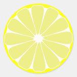 Pegatinas del limón