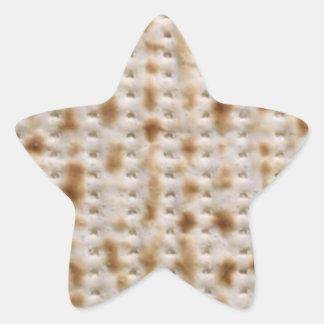 Pegatinas del Matzoh del Passover de la estrella Pegatina En Forma De Estrella
