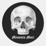 Pegatinas del mori del recuerdo pegatina redonda