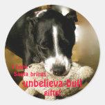 Pegatinas del navidad de UnbelievaBULL Etiquetas Redondas