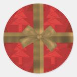 pegatinas del navidad pegatina redonda