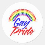 Pegatinas del orgullo gay