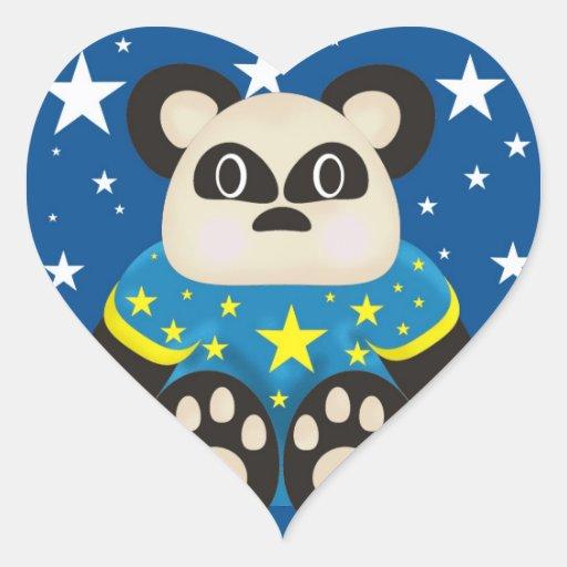 Pegatinas del oso de panda
