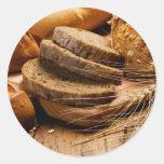 Pegatinas del pan y del trigo