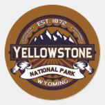 Pegatinas del parque nacional de Yellowstone