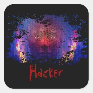Pegatinas del pirata informático